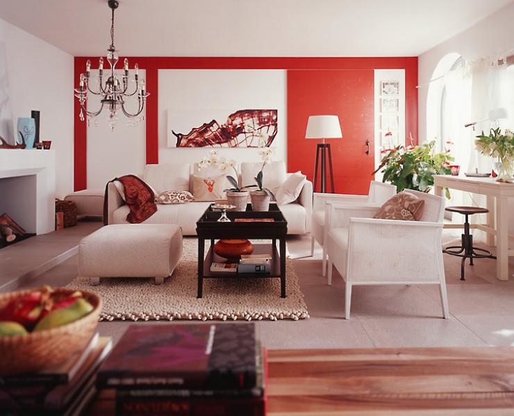 HD wallpapers sala decorada com moveis preto e branco