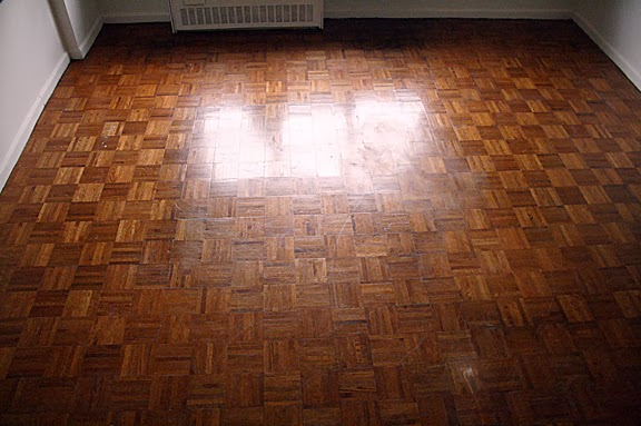 Photos of Parquet Floor Refinishing
