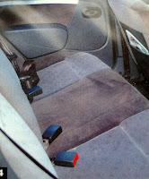 interior atras plazas traseras Renault Logan Luxe 1.6
