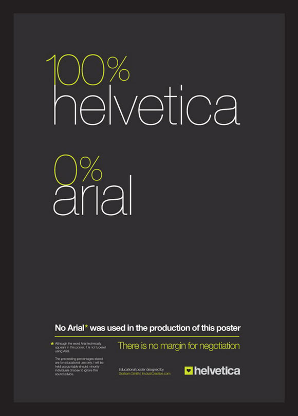 25 Helvetica Poster Design For Inspiration Jayce O Yesta