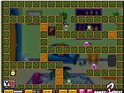 Dora giết quái vật, chơi game hoat hinh hay tại gamevui.biz