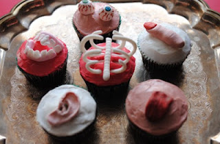 Body Parts Cupcakes@ Northman's Party Vamps