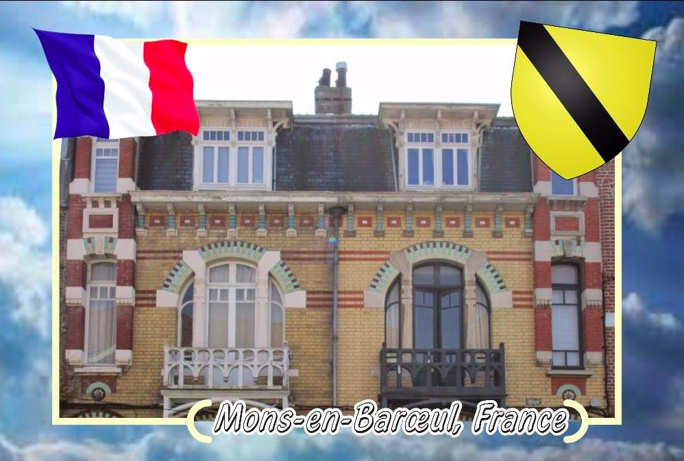 """Carte postale des """" jumelles """""""
