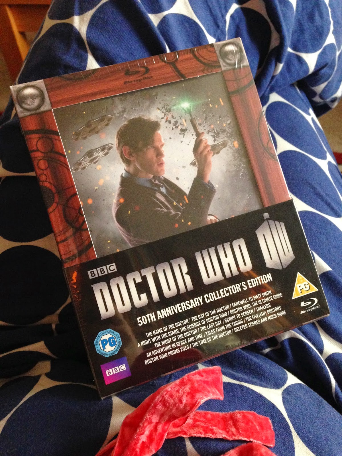 Doctor Who 50th Anniversary Blu Ray