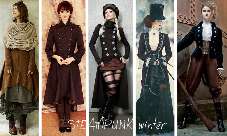 Steampunk winter