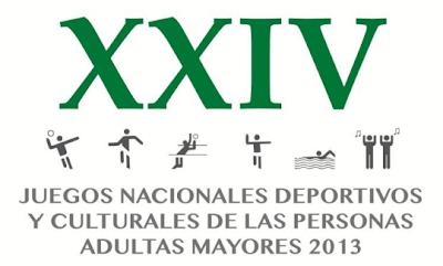 XXIV Juegos Nacionales Deportivos y Culturales de las Personas Adulta Mayores. 2013