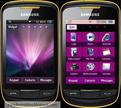 Samsung Corby 2 Theme: Winmac 2