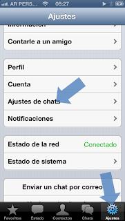 Backup en iCloud de mensajes y fotos de WhatsApp #1