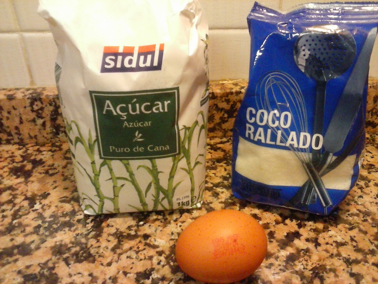 Ingredientes bolitas de coco