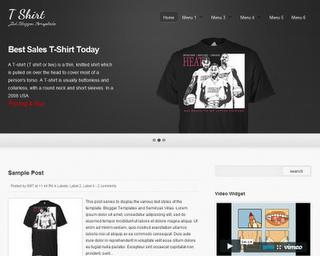 Template-template blog untuk Toko Online | blogspot