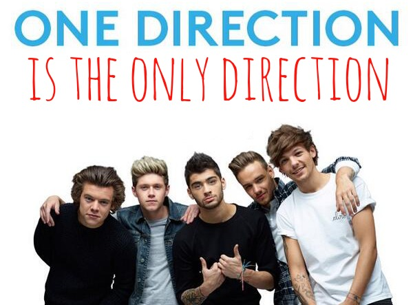 One Direction is the ONLY direction.