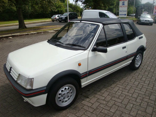 1991 peugeot 205 gti cabriolet auto restorationice. Black Bedroom Furniture Sets. Home Design Ideas