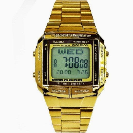 Casio Gold Watch is part of Lazada Online Revolution