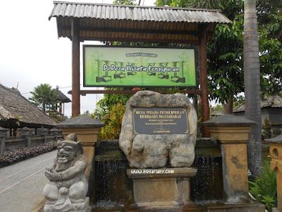 Desa Wisata Penglipuran Bali