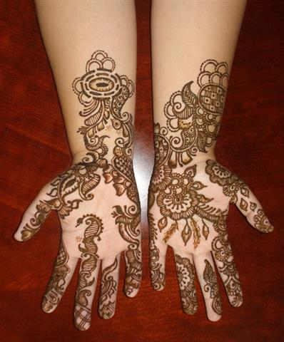 design of arabic mehndi