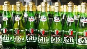 bouteille de Celtia en Tunisie