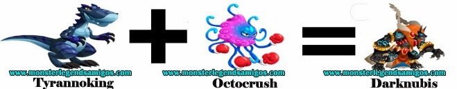 como obtener el monster darknubis en monster legends formula 1
