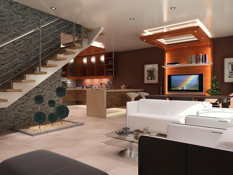 Bojorque construcciones interiores condominio racar w j for Colores para interiores casas minimalistas
