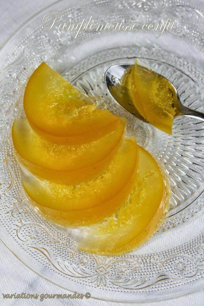 pamplemousses,fruits confits, gourmandise, recette de chef,agrumes, Anne-Sophie Pic, pâtisserie