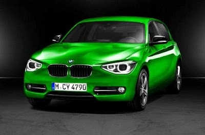 2012_BMW_1_Series_Green_Color