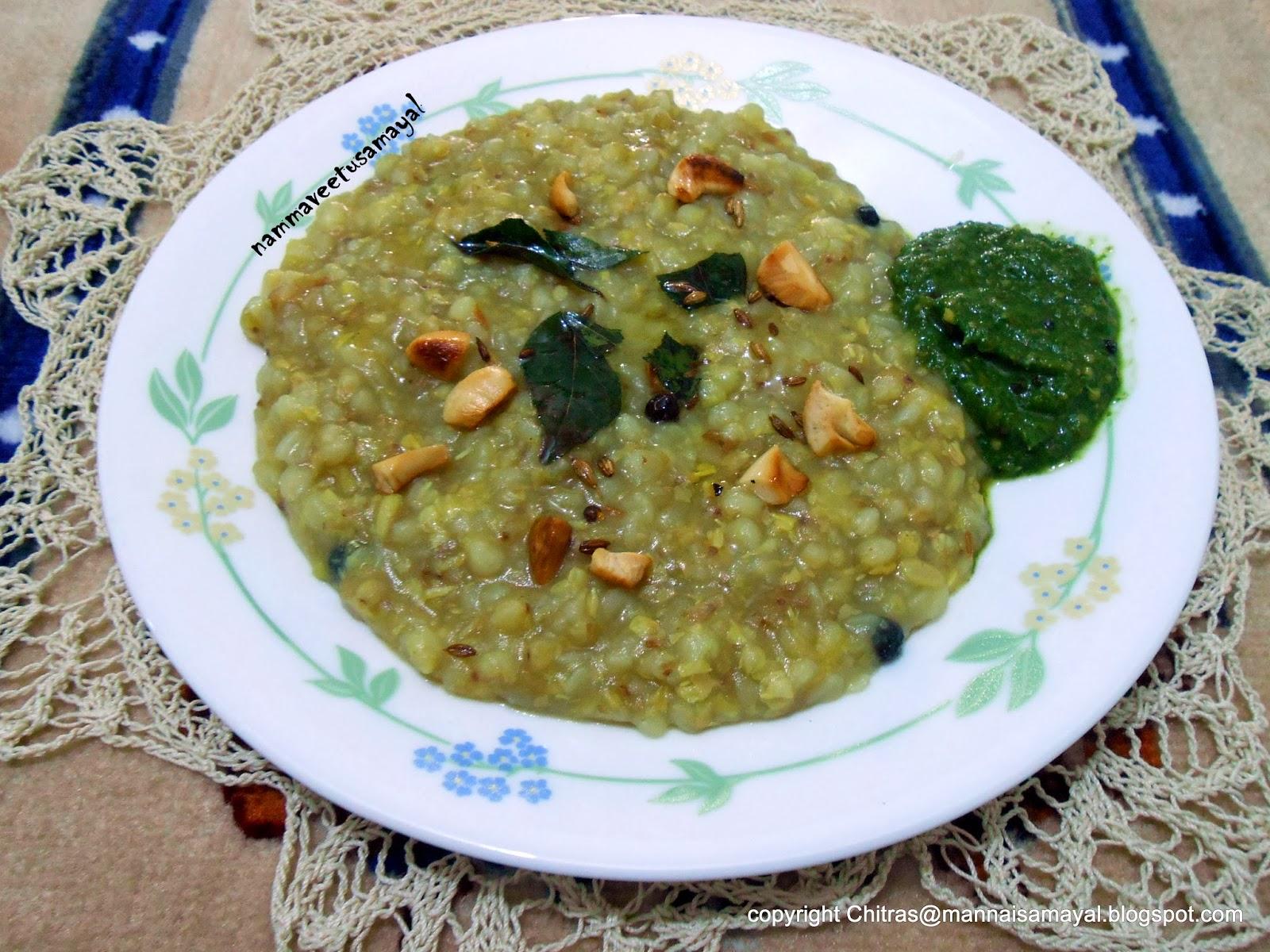 buckwheat pongal