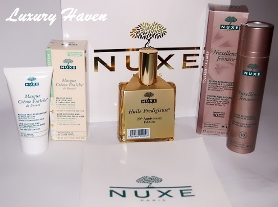 antoinette bellabox event nuxe products