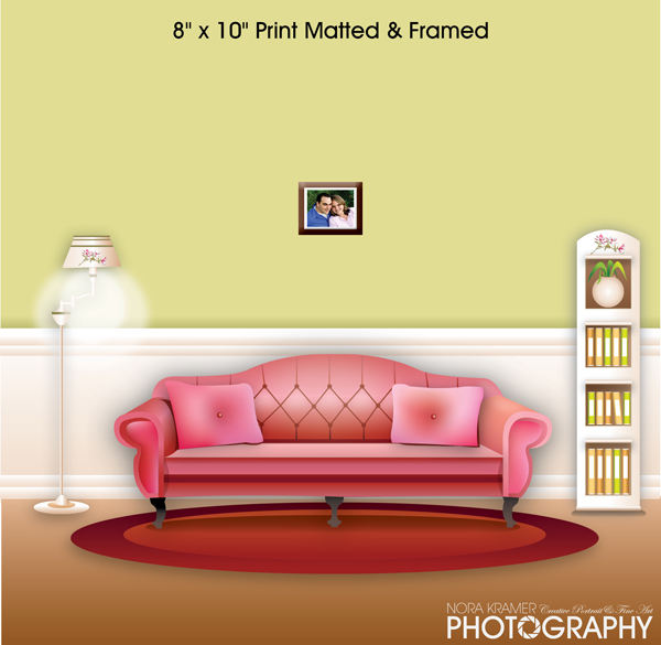 wall portraits living rooms. 8 x 10 Wall Print Matted and Framed  Nora Kramer Photography Breaking The Mindset What Size