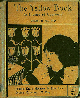 the cover of the yellow book 1894