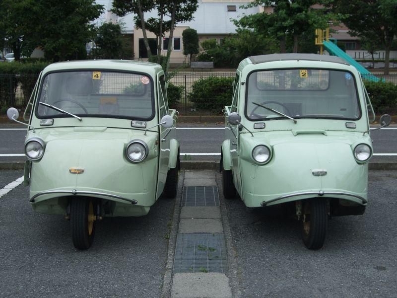 Daihatsu Midget, kei car, mały samochód, japońskie, niewielki silnik, zdjęcia, mała ciężarówka, kei truck