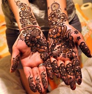Arabic Festival Henna Designs