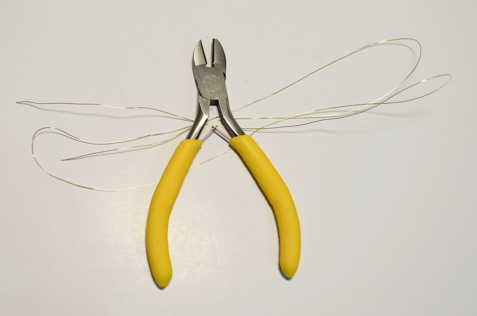 wire cutters gold wire diy easy simple quick