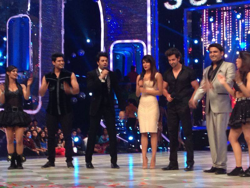 Krrish 3 Team On jhalak diklaja Set