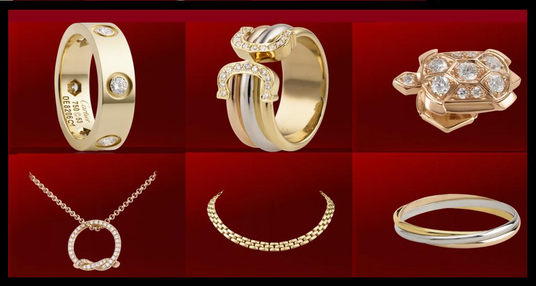 Unique wedding ideas: Cartier Jewellery