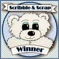 Scribble and Scrap Winner
