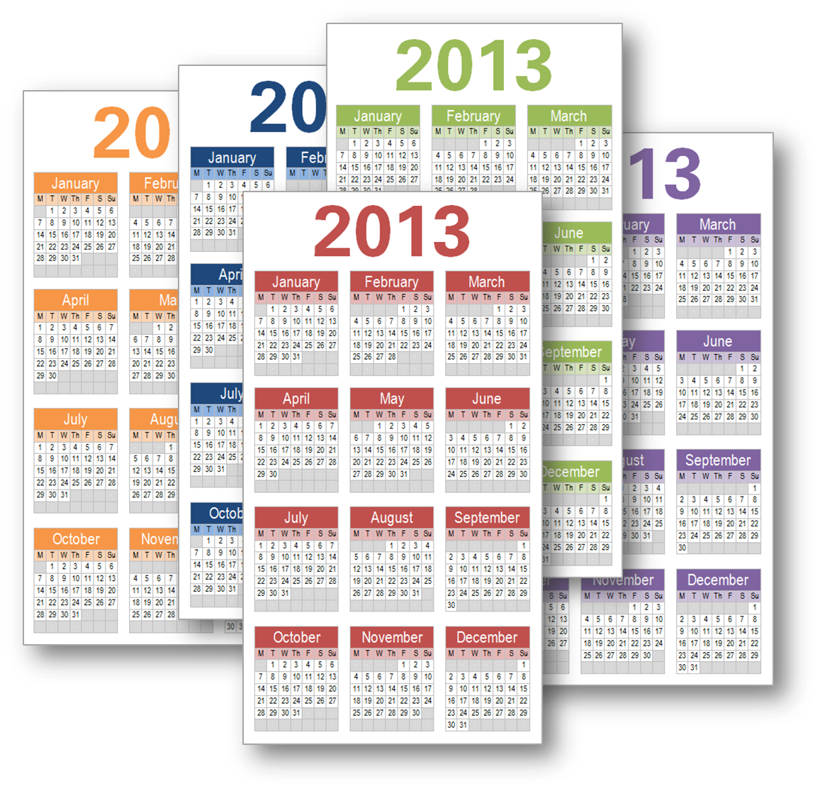 Midori Traveler S Notebook Calendar : My life all in one place download year on a page