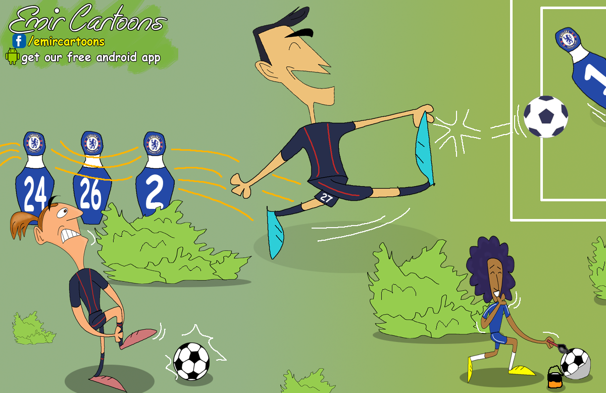 Pastore ,Ibrahimovic,Ibrahimovic karikatura,PSG,PSG karikatura,Chelsea, Chelsea PSG, emir balkan cartoons,karikatura,karikatura dana,fudbal,karikature fudbal, liga prvaka,PSG 3 - 1 CHELSEA,