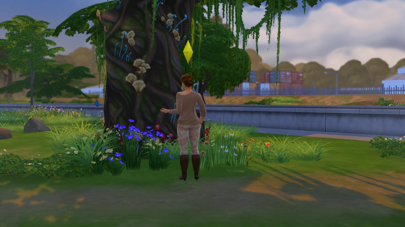 """Guía Sims 4: Desbloquear La """"Gruta Olvidada"""" y El """"Claro Silvestre"""" 11-09-2014_13-58"""