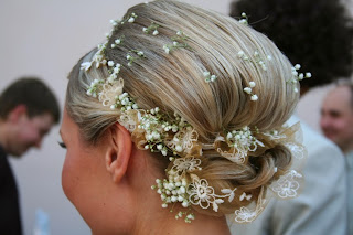 The modern look wedding hairstyle Ceremony shoes bride rings hairstyles groom click share love