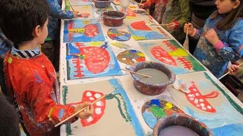 ΠΡΟΓΡΑΜΜΑ ΔΗΜΙΟΥΡΓΙΚΟΥ ΕΡΓΑΣΤΗΡΙΟΥ για παιδιά 4- 7 ετών και γονείς Στην Αγ. Βαρβάρα