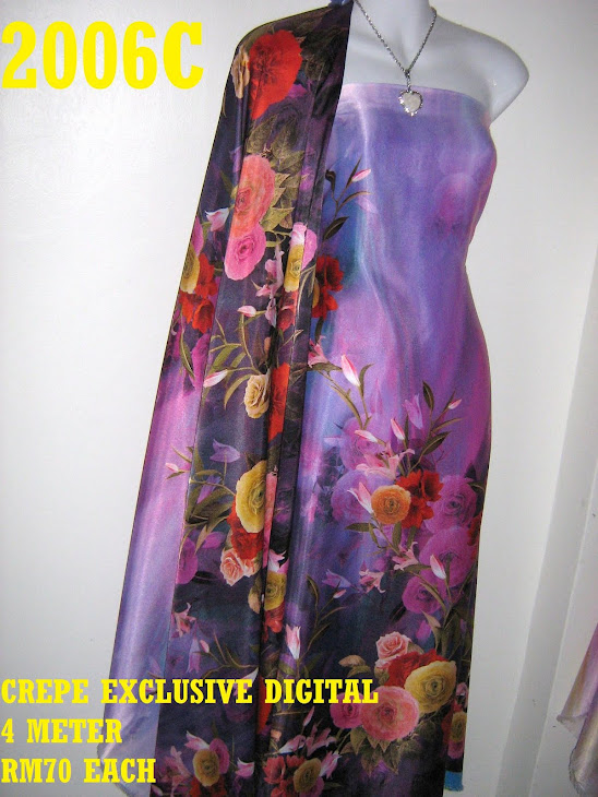 CP 2006C: CREPE EXCLUSIVE DIGITAL PRINTED, 4 METER