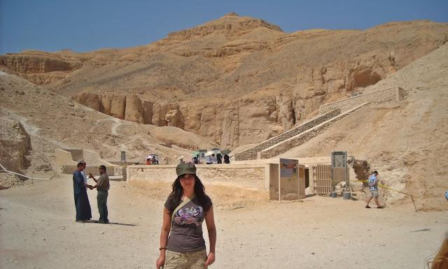 viaje Egipto Egypt valle de los reyes kings valley