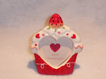 Strawberry Cupcake Frame