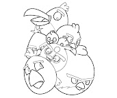 #3 Angry Birds Coloring Page