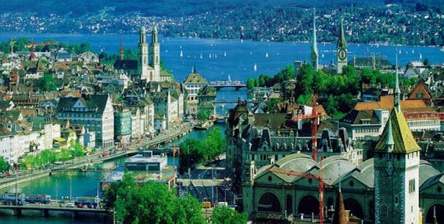 زوريخ المدينة السويسرية- مدينة المال والأعمال