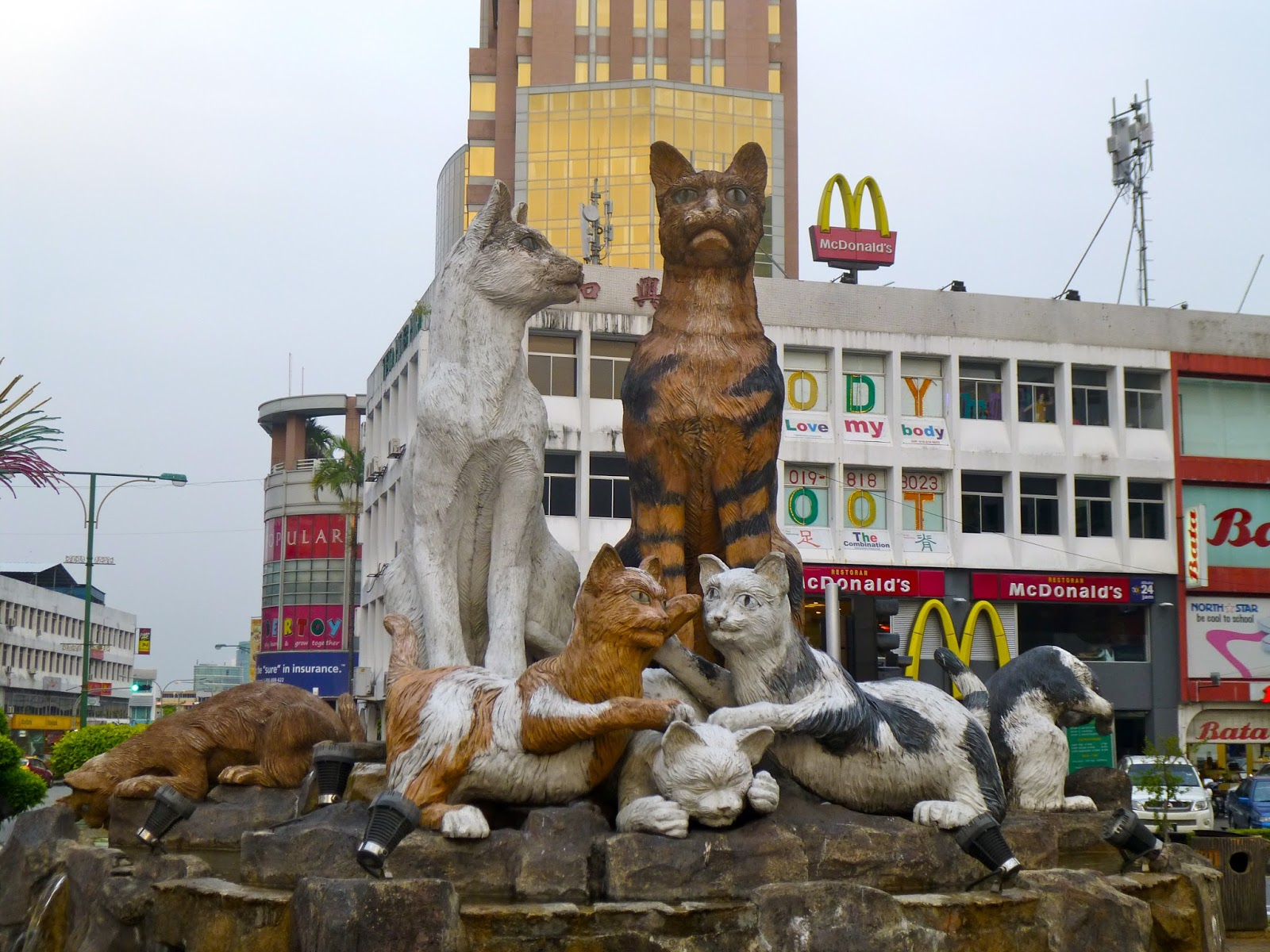 Wildlife and wild times in Kuching, Malaysia