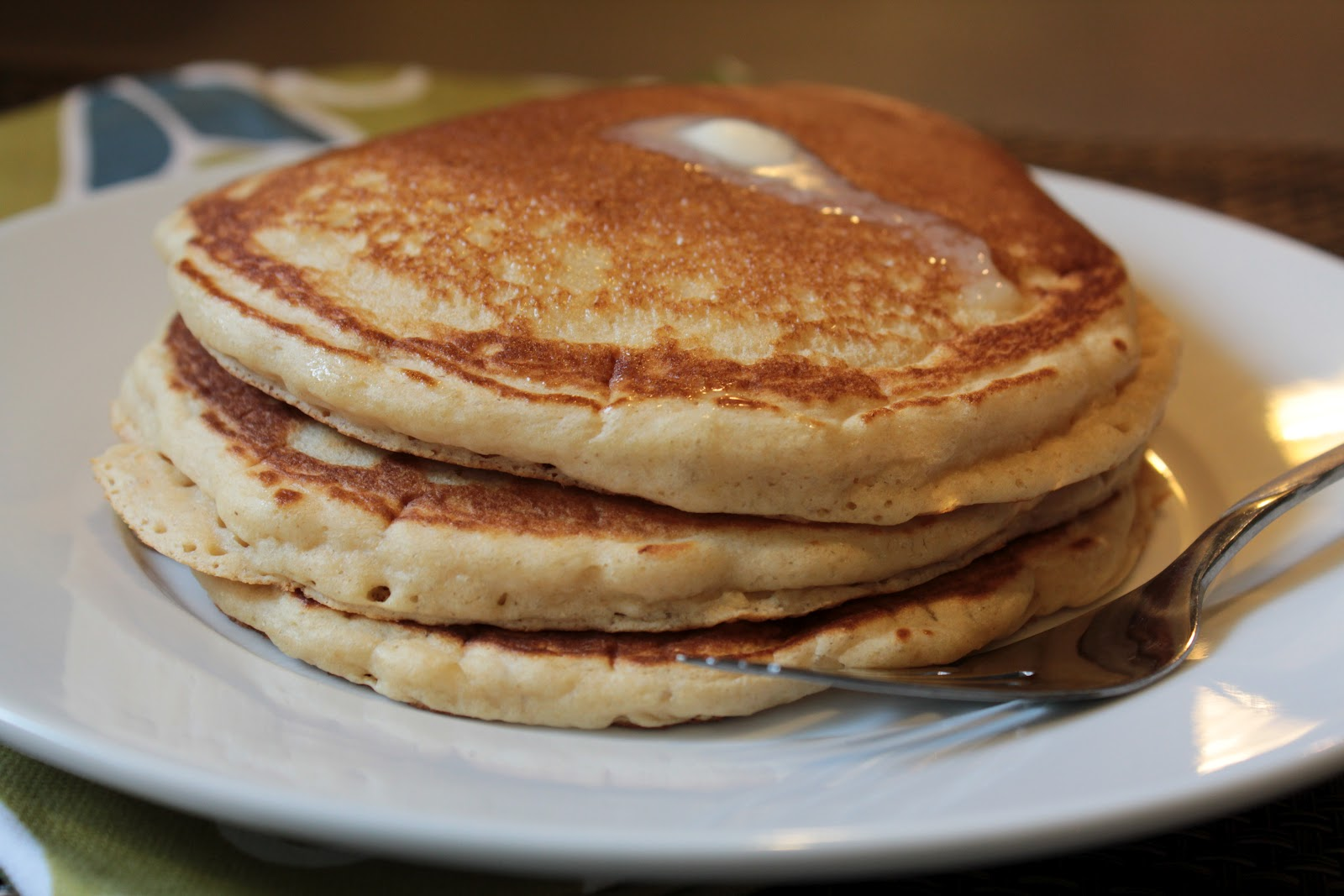 Simply Whole Kitchen: Whole Wheat Pancakes