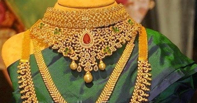 Designer Diamond Jewellery For Weddings Latest Jewellery