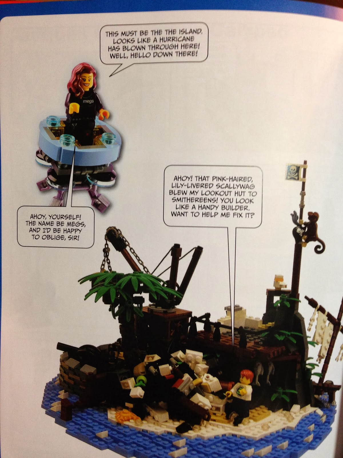 run by no starch press and their lego authors my kids really loved the comic style writing in this book it is different from the other lego books we