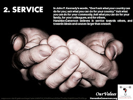 Our Values (2) Service