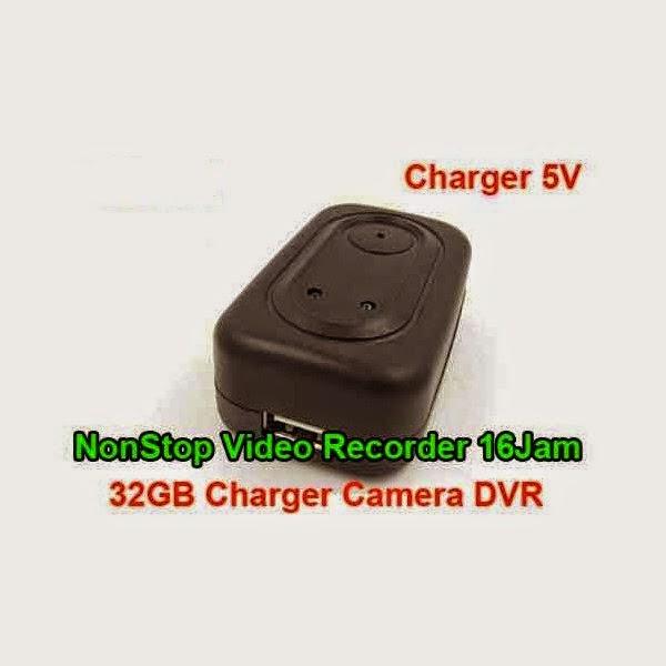 Kamera Model Charger 32GB Bisa Rekam 16 Jam Non Stop